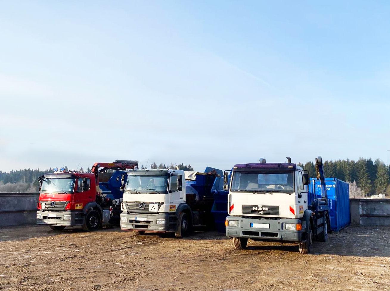 Sunkvežimių nuoma su vairuotoju