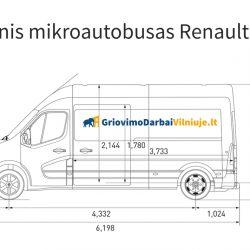 Krovininio mikroautobuso nuoma Vilniuje